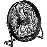 TROTEC Ventilatore da pavimento TVM 20 D 120 Watt di potenza 3 velocità di ventilazione Diametro delle pale: 50 cm