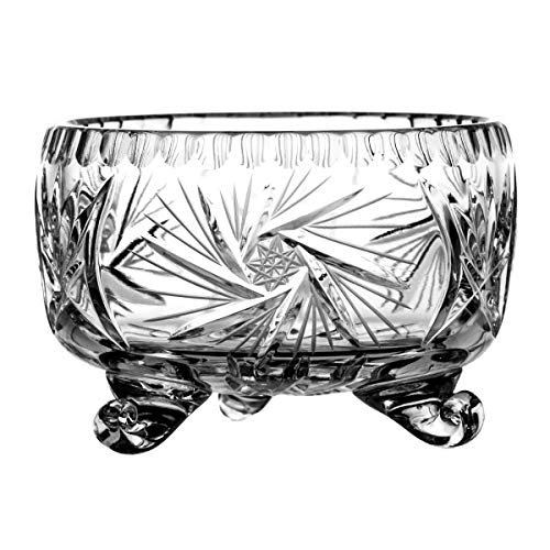 Crystaljulia 2403 Assiette en Cristal au Plomb 24% Pbo Transparent 11 cm