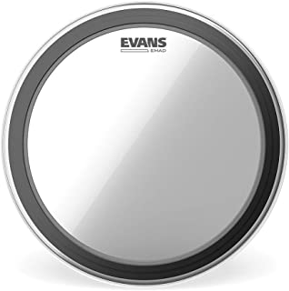 Evans EMAD Clear Bass Drum Head, 22 Inch