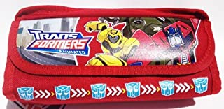 Transformers Pencil Case and Stationary Set (Red)-gift Set for Boys
