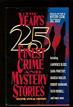 The Year's 25 Finest Crime and Mystery Stories: Second Annual Edition - Book #1992 of the Year's Finest Crime and Mystery Stories