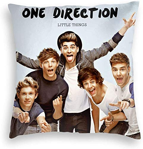 Star Heaven One Direction Throw Pillow Covers 18 x 18 pulgadas Fashion Decorative Pillow Case Modern Cushion for Car Sofa Bed Home Decor