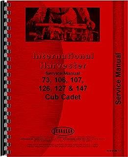 International Harvester Cub Cadet 147 Lawn and Garden Tractor Service Manual