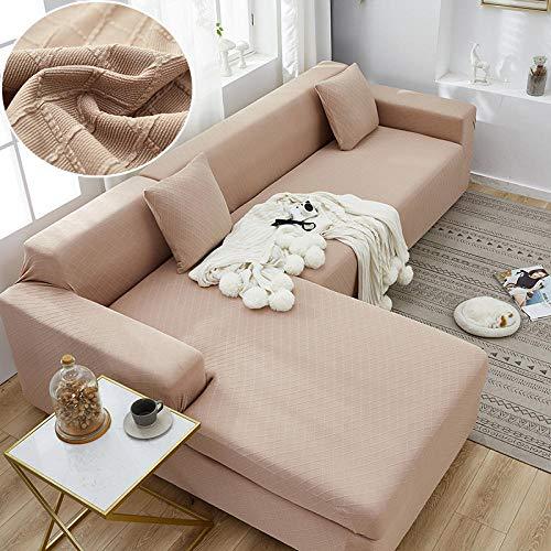 B/H Lavable/Antiácaros Funda de sofá,Funda de sofá Simple Todo Incluido, cojín de sofá Universal elástico-E_90-140cm,Sillón Elastano Fundas de Sofá