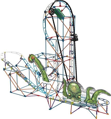 K'NEX Thrill Rides-Kraken's Revenge Roller Coaster Building Set-Ages 9+ -Engineering Education Toy (Amazon Exclusive) (17616)