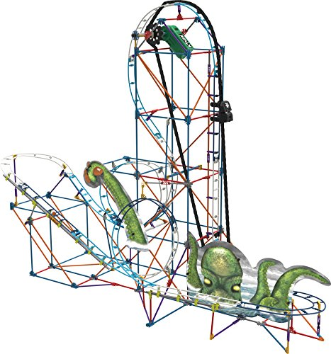 K'NEX Thrill Rides-Kraken's Revenge Roller Coaster Building Set-Ages 9+ -Engineering Education Toy (Amazon Exclusive) (17616)