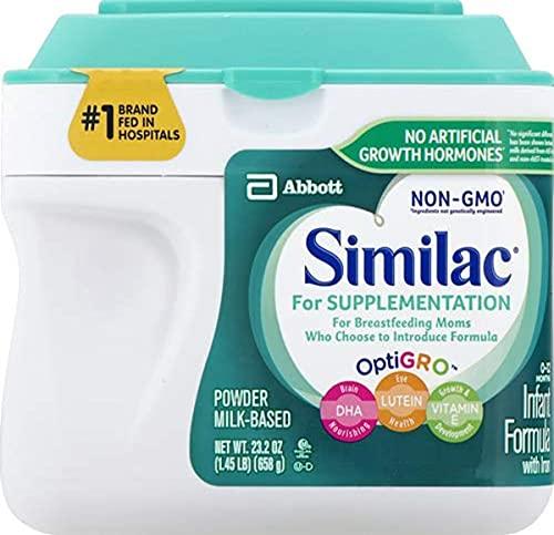 Similac Supplementation Powder, 23.2 Ounce