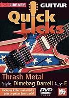 Guitar Quick Licks: Dimebag Darrell Style Thrash [DVD] [Import]