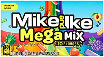 12-Pack Mike and Ike Mega Mix Chewy Assorted Fruit Flavored Candy