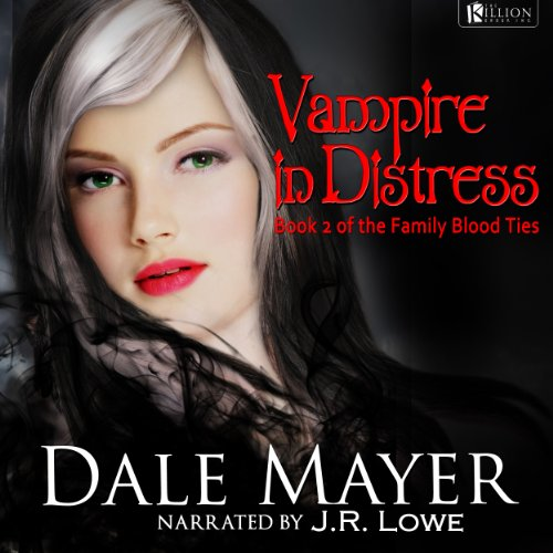 Vampire in Distress audiobook cover art
