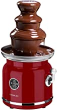 Cecotec Fontaine à chocolat Fun Chocolicious. Puissance 90 W, design rétro, tour en acier inoxydable, 3 niveaux de cascad...