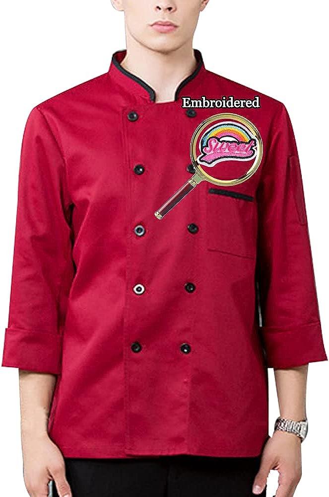 Personalized Customized Chef Jacket Hotel Kitchen Max 53% Superlatite OFF Restaurant Che
