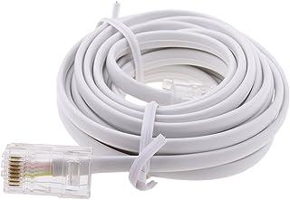 TISHITA RJ11 ADSL to Ethernet RJ45 Modem Cable 8P 4C 6P 4C