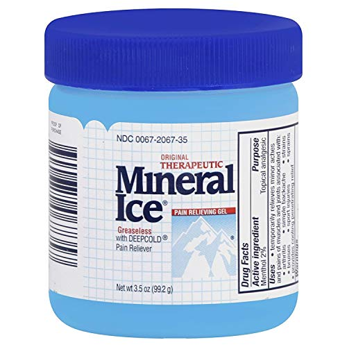 Mineral Ice Pain Relieving Gel, 3.5 oz