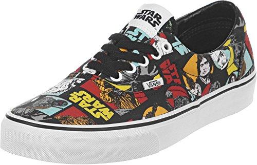 Vans Mens Era (Star Wars) Classic Repeat Black Sneakers Shoes (Men's 9/Women's 10)