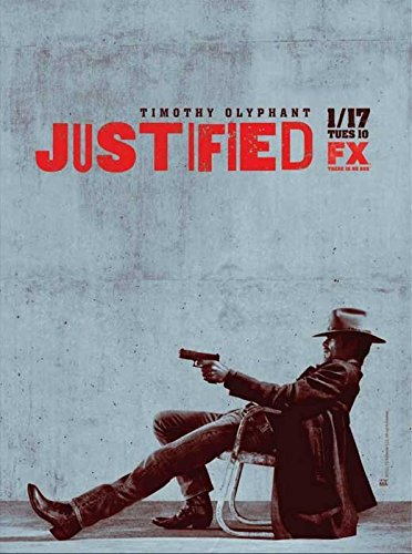 Justified 11 x 17 TV Poster