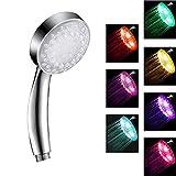 LED-Duschkopf mit Farbwechsel, Hochdruck-Duschkopf mit...