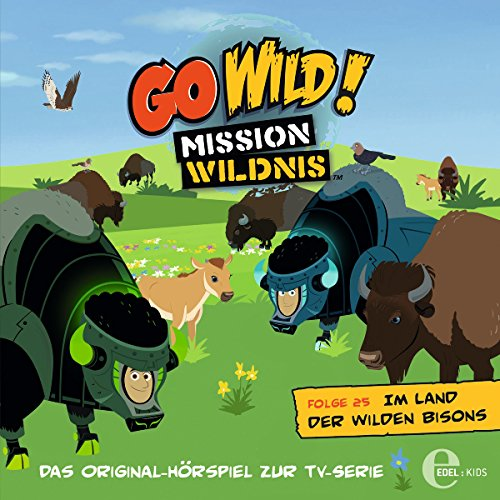 Im Land der wilden Bisons Titelbild