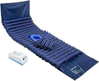 WGIRL Masajeador de Terapia de Calor para la Espalda Colchón Inflable antiescaras de PVC, colchón de Aire para hemorroides colchón de Aire médico colchón de Masaje de presión de Aire