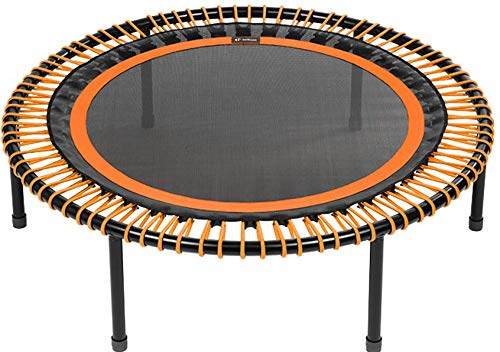 bellicon Classic Rebounder, Folding Legs, Orange, ø 125 cm, Medium Bungees (60-90kg), including Starter Pack, Made in Germany, and Design
