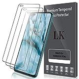 LK Compatible con OnePlus Nord Protector de Pantalla,3 Pack,9H Dureza Cristal Templado,Vidrio Templado Screen Protector