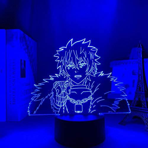 Primer día ofertas 2021 3D luces anime Saiki K Shun Kaidou desastrosa vida dormitorio decoración noche luces Saiki Kusuo no Sai Nan llevó luces erjie