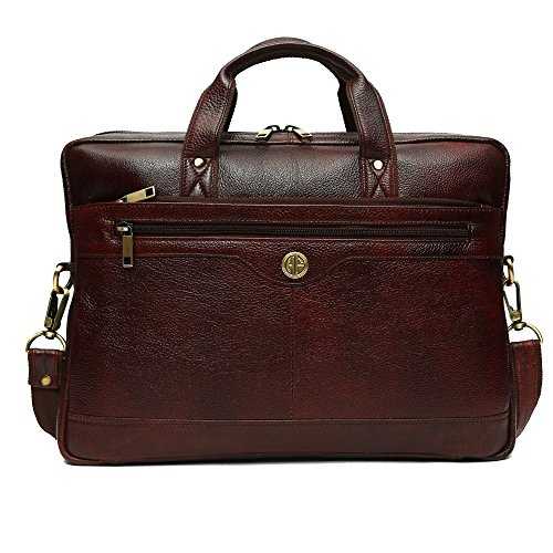 Hammonds Flycatcher Genuine Leather Office Messenger Laptop Bag