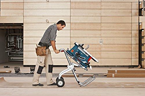 Bosch Professional Transport- und Arbeitstisch GTA 60 W (622 mm Höhe, 1.220 mm Länge) - 4