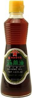 Kadoya Pure Sesame Oil, 11-Ounce Bottle (Pack of 3)