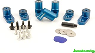 Boomba Racing WING RISER KIT BLUE for 2013+ Ford Focus ST