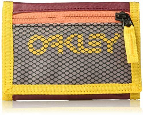 OAKLEY Herren 95154-4ST Reisezubehör-Dreifachgefaltete Brieftasche, Sundried Tomate, Keiner Größe