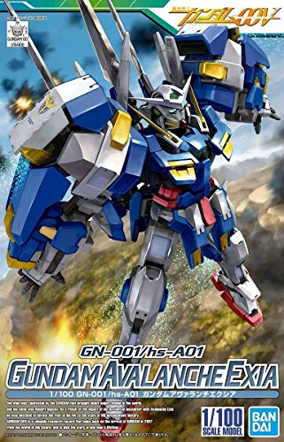 Mobile Suit Gundam 00 V 1/100 Gundam Avalanche Exia Plastic Model