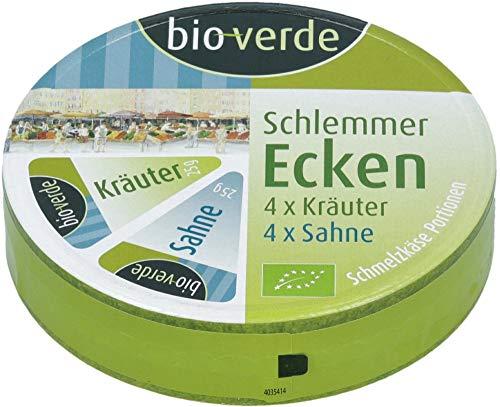 bio-verde Bio Schlemmer-Ecken Sahne/Kräuter (6 x 200 gr)