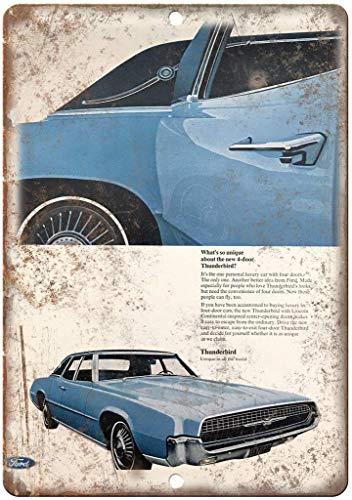 Metallplakat für Café, Bar, Hotel, Büro, Hof, Nicht Ford Thunderbird Lincoln Continental Blechschild Eisenmalerei Warnschild Wanddeko