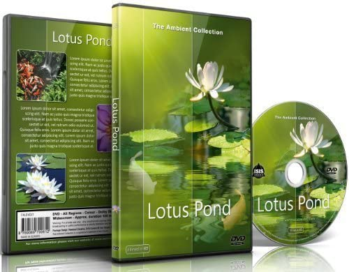Relaxation DVD Lotus Pond for Relaxing and Mediation and Mindfulness product image