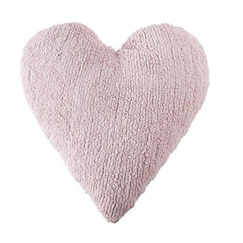 Cojín Corazón, color rosa