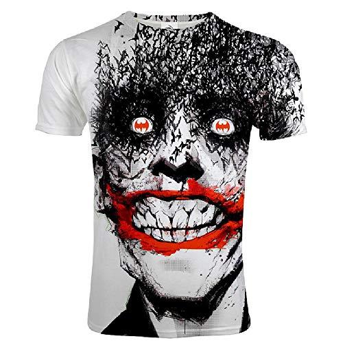 Preisvergleich Produktbild U / A Spring Fashion Herren T-Shirt mit 3D-Digitaldruck,  kurzärmelig Gr. 56