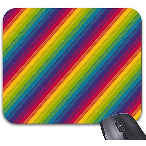 Canciones del arcoíris Pulgar Alfombrillas de ratón Accesorios de computadora de Oficina con Estilo de Moda 25 X 30 cm
