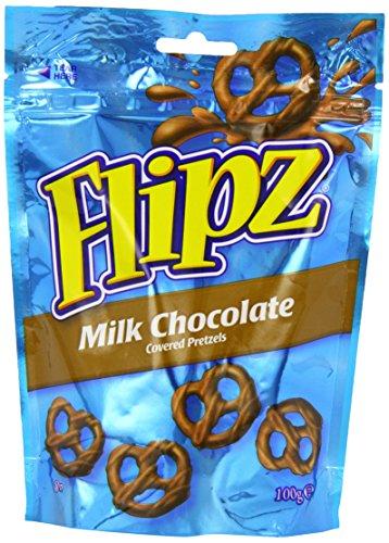 DEMET'S Flip Milk Choc Pretzels cubiertos 100 g (paquete de