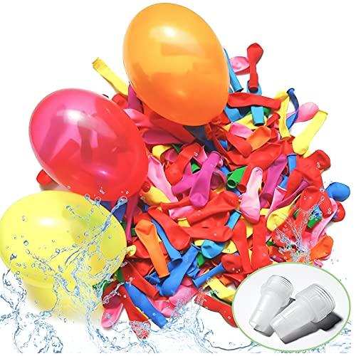 LISOPO 1000x Wasserbomben Wasserballons Water Balloonsfür Kinder & Erwachsene - Wasser Luftballons