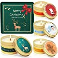 LA BELLEFÉE Scented Candle Soy Wax Gift Set for Christmas