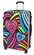 We are proud to present our fabulous multicolour abstract print luggage, fantastic unique print popular luggage, to make your journey joyful and comfortable Manufactured with the highest standards of workmanship and best quality strong and flexible A...