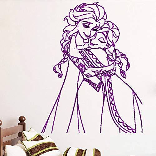 La princesa Pegatinas de pared Papel pintado adhesivo Vinilo