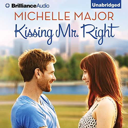 Kissing Mr. Right audiobook cover art