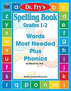 Spelling Book, Level 1-2 by Dr. Fry