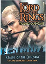Lord of the Rings Card Game Theme Starter Deck Realm of the Elf-Lords Legolas by Decipher