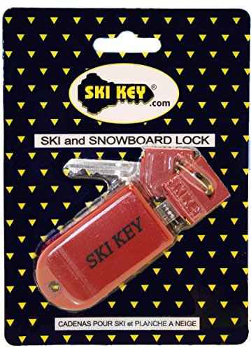 Ski Key Lock for Ski and Snowboard