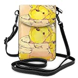 XCNGG Women's Small Crossbody Bag with Shoulder Strap,Winnie The Pooh Falls into a Honey jar Small Cell Phone Purse Wallet with Credit Card Slots