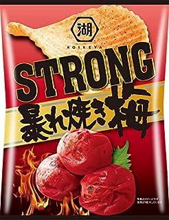 湖池屋 KOIKEYA STRONGポテトチップス 暴れ焼き梅 52g