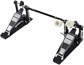 Heavy Duty Drum Pedal, Double Bass Dual Foot Kick Pedal Percussion Drum Set Accessories, 13.2x6.5x9.1 Inches